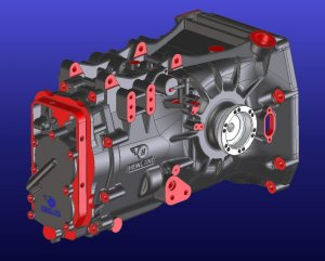 Ford Racing Parts >> TMT Gearbox